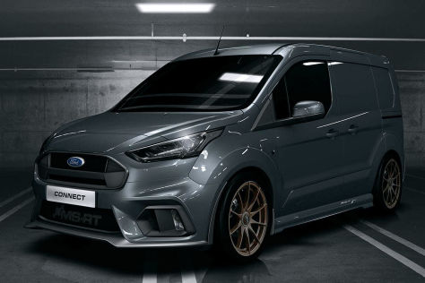 Ford Transit Connect Tuning: MS-RT Bodykit