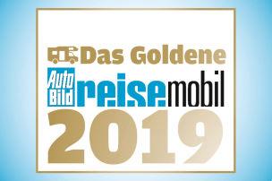 Goldenes Reisemobil 2019