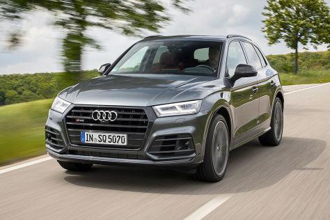 Im Audi SQ5 tobt ein Dieselsturm