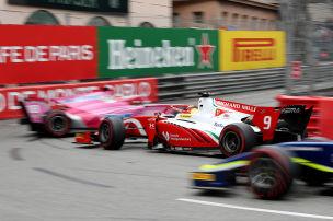 Formel 2: Schumacher crasht