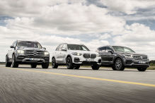 BMW X4, Mercedes CLE, VW Toureg: Test