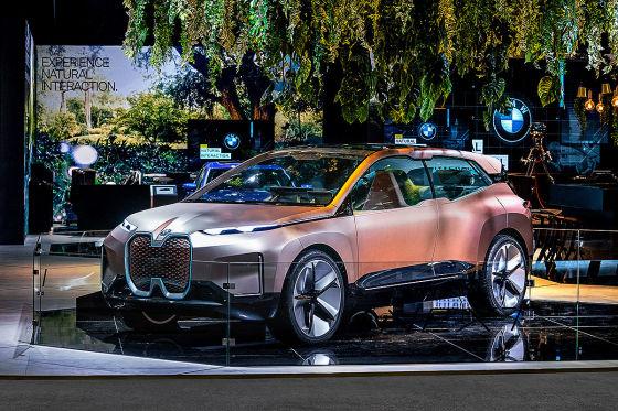 Panorama-Bildschirm bei BMW