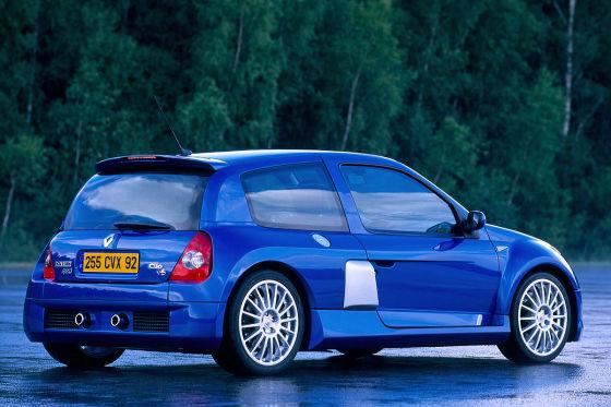 Renault Clio V6: Klassiker des Tages