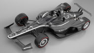 IndyCar mit Kopfschutz