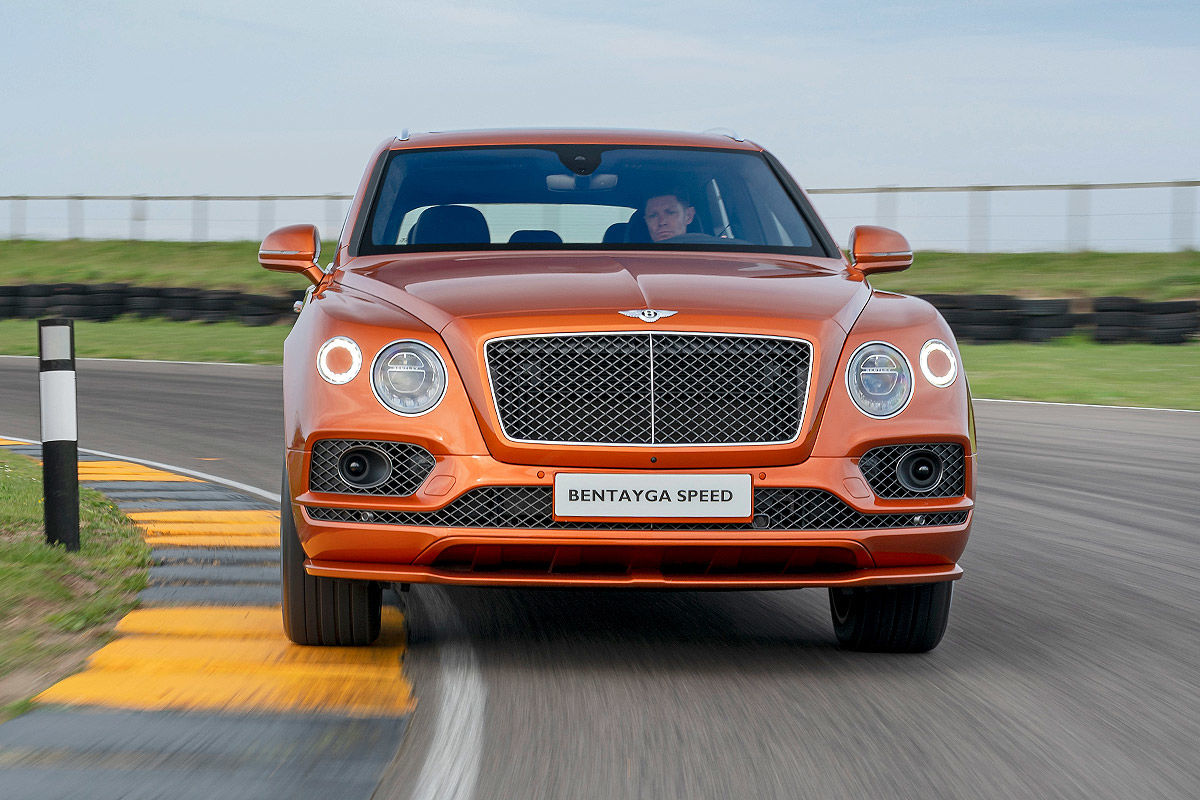 Bentley Bentayga Speed (2019)