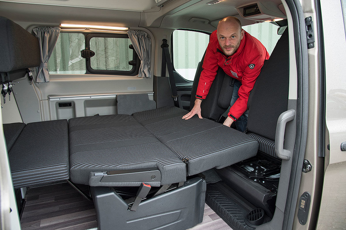Wohnmobil-Test Ford Nugget Plus