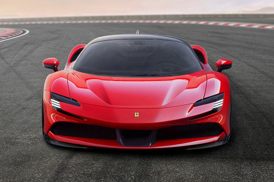 Ferraris Plug-in hat 1000 PS!