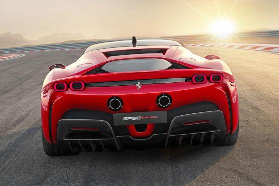 Ferrari Sf90 Stradale 2020 1000 Ps Motor Hybrid Preis Autobild De