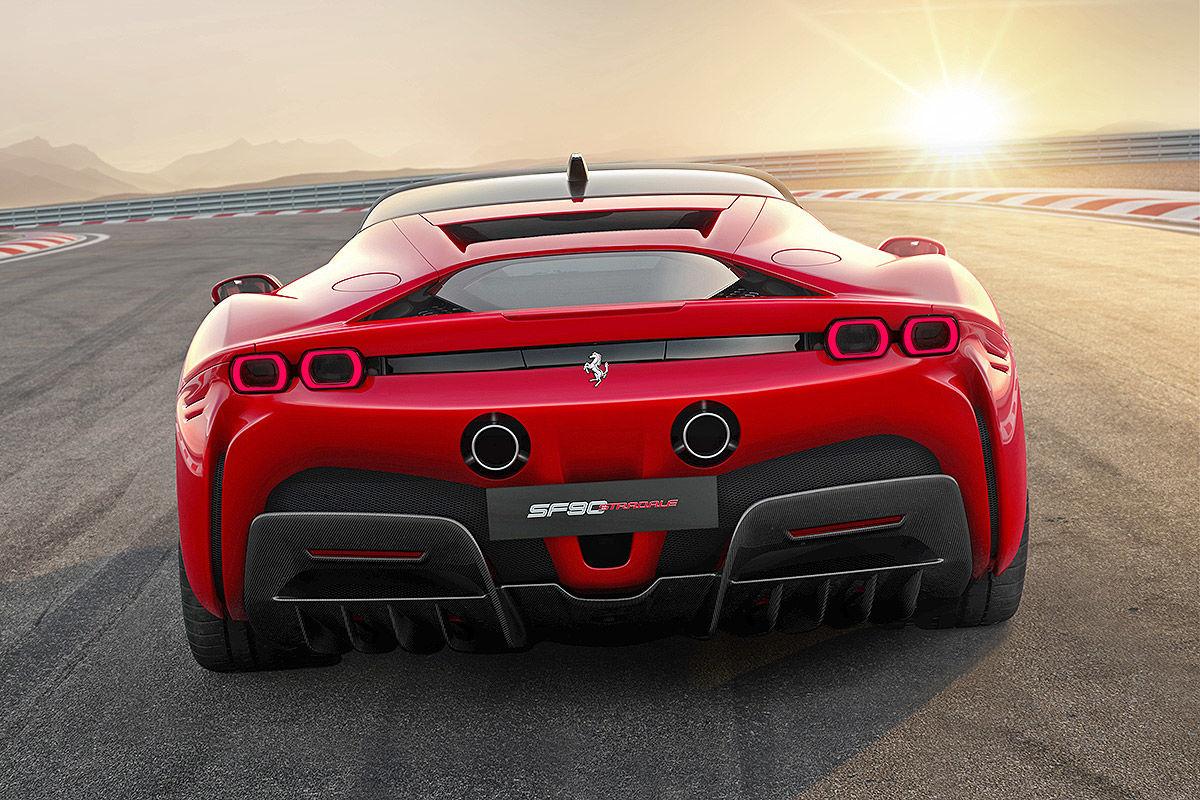 Ferrari Sf90 Stradale 2020 Bilder Autobild De