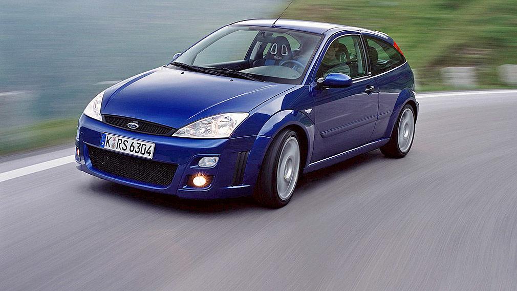 Ford Focus RS: kaufen, Turbo, Vierzylinder, WRC