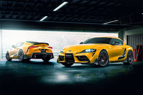 Toyota Supra Tuning: TRD-Aerokit