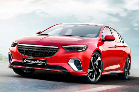 Opel Insignia Tuning: Irmscher-GSi