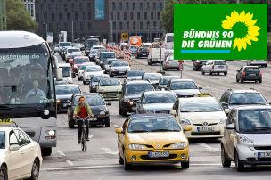 Gr�ne fordern massiven CO2-Preis