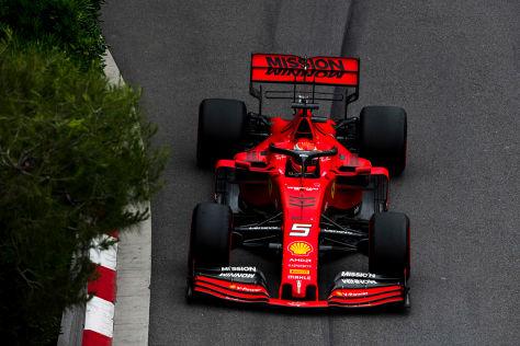 Formel 1: Vettel und Ferrari vor Kanada Vettel kontert Rücktritts-Gerüchten