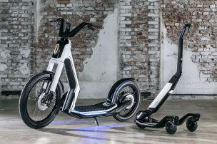 VW zeigt stylische Studien f�r E-Mobilit�t