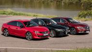 Alfa Giulia, Peugeot 508, Renault Talisman: Test