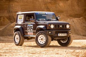 Suzuki Jimny mit Dakar-Paket