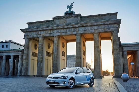 VW startet E-Carsharing in Berlin