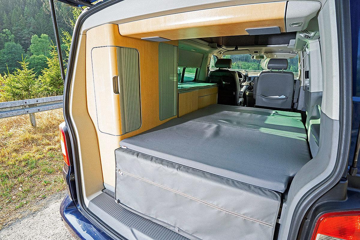 Wohnmobil-Test VW T5 California 2.5 TDI