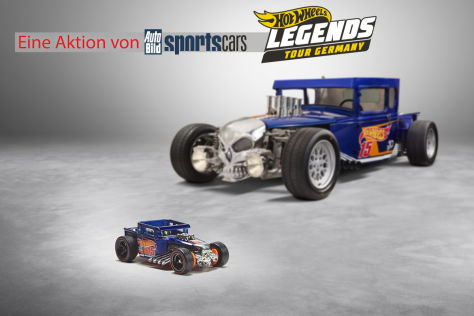 Hot Wheels Legends Tour Germany