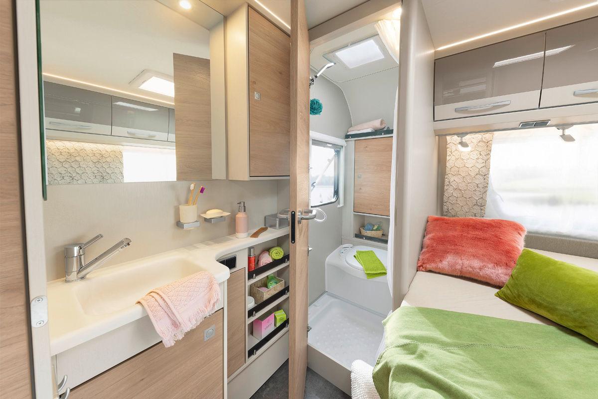 Ein Wohnwagen für Paare