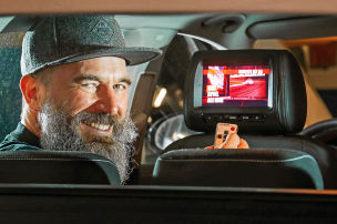 Autozubehör: Monitorkopfstützen nachrüsten