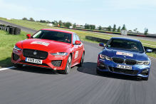 BMW 3er, Jaguar XE: Test