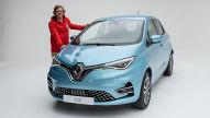 Renault Zoe Facelift (2019): Sitzprobe