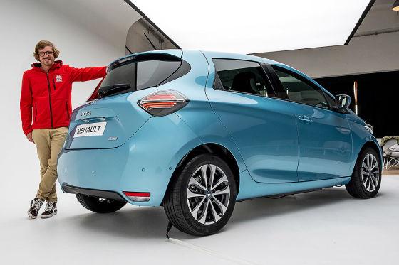 Facelift des Renault Zoe kann länger!