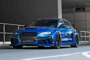 Audi RS 6 Avant: Triebwerk Motors