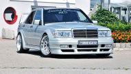 Mercedes 190 Tuning: Rieger Evo III