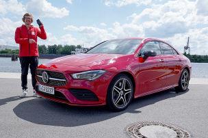Mercedes CLA (2019): Connectivity-Check