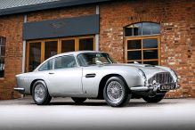 Aston Martin DB5 mit James-Bond-Aussttatung