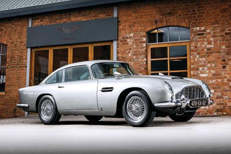 James Bond Aston Martin Db5 Aus Goldfinger Wird Versteigert Autobild De