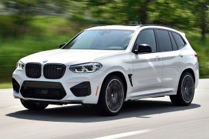 BMW X3 M Competition: Test