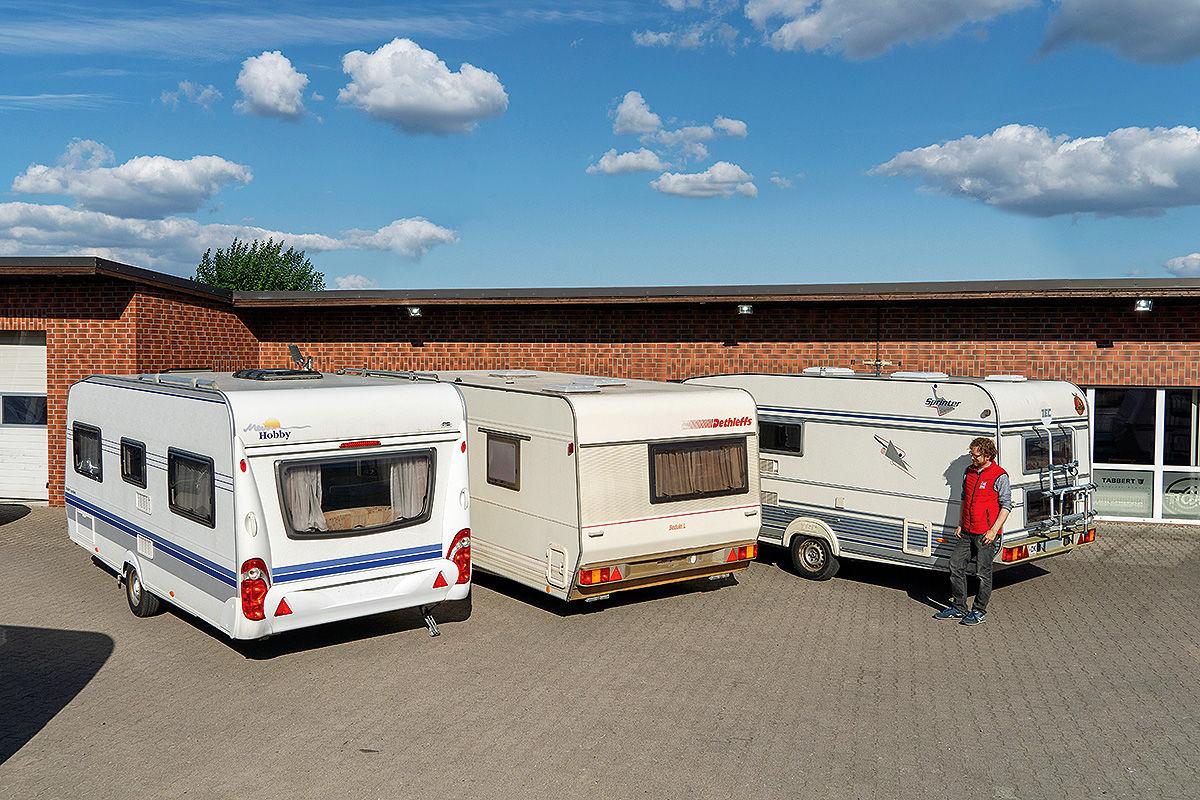 Check: gebrauchte Wohnwagen für Einsteiger
