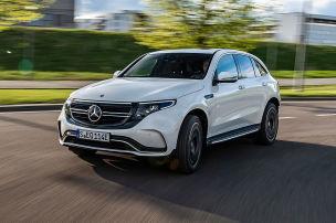 Die EQ-Modelle von Mercedes