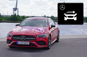 Mercedes MBUX Car Sharing (2019)