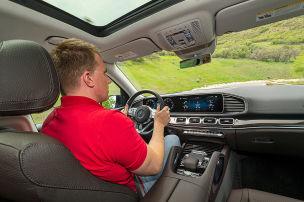Mercedes GLS 400 d, 450, 580: Fahrbericht