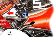 Formel 1: Neue Teile in Frankreich