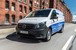 Mercedes eVito und eSprinter