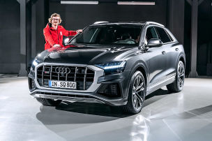 Audi SQ8 TDI (2019): Test