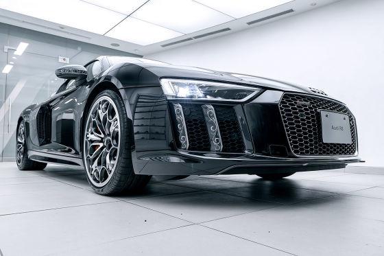 Dieser R8 macht auf Bugatti Veyron