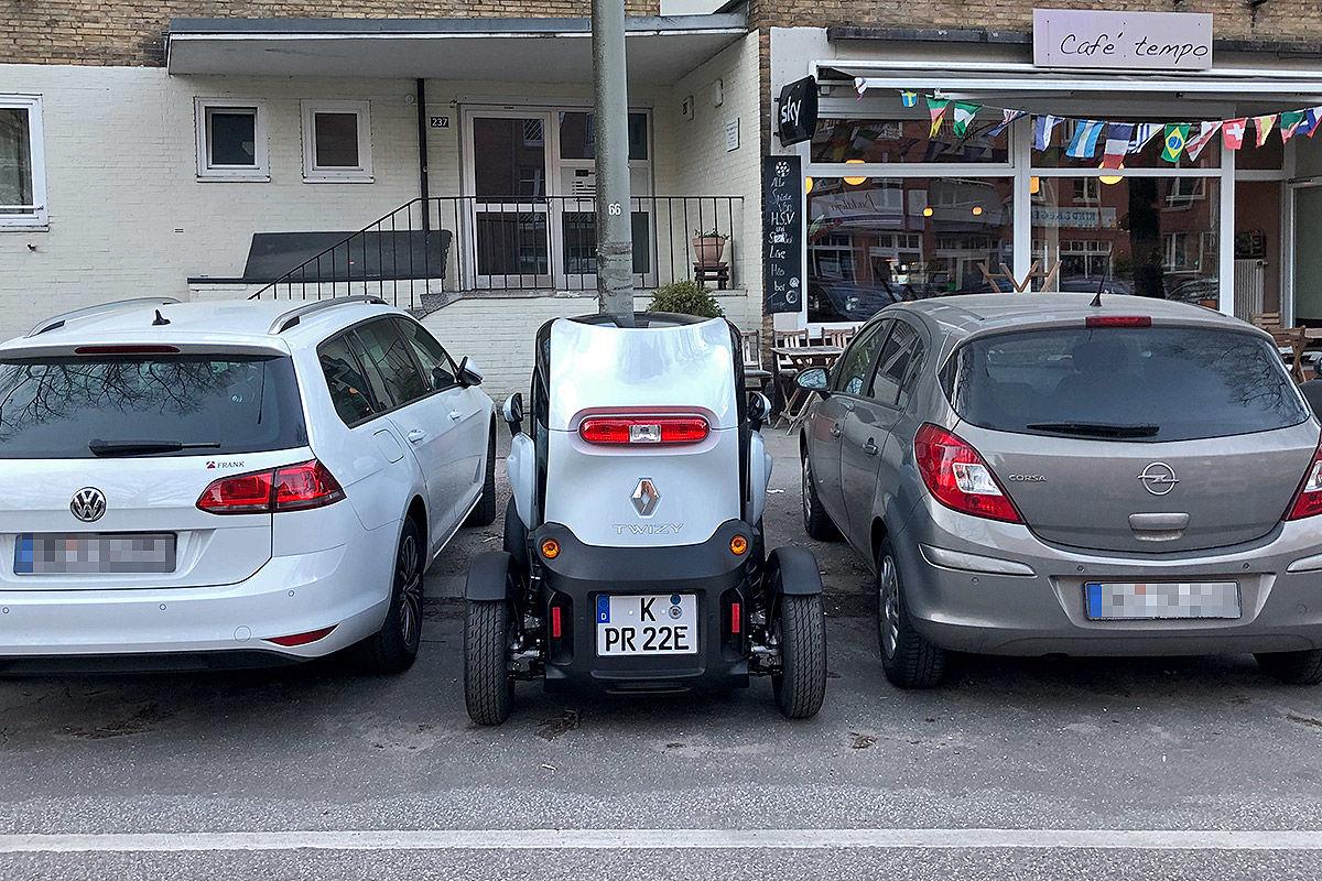 Renault Twizy Intens: Dauertest