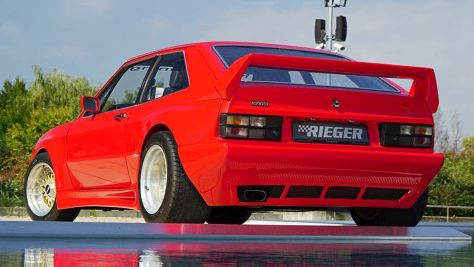 VW Scirocco: Rieger-Tuning