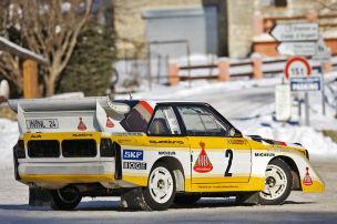 Klassiker des Tages: Audi Quattro S1 E2