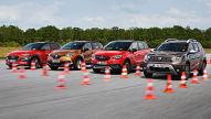 Duster, Captur, Crossland X, Kona: SUV-Test