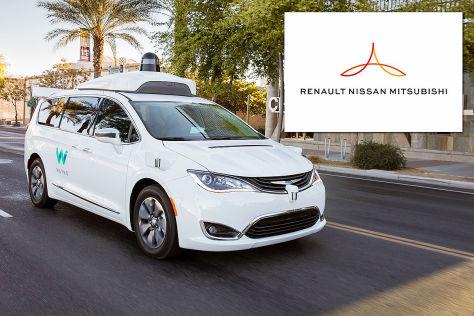 Waymo und Renault-Nissan: Kooperation