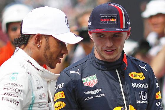Hamilton & Verstappen