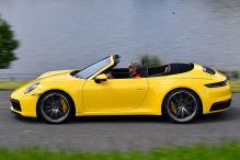 Welche Note bekommt das 911 Cabrio?